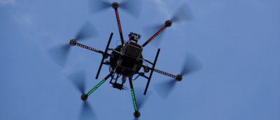 日本無人機 災區收集民眾訊息報平安