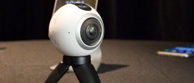 Gear 360 雙鏡頭拍全景高清影片