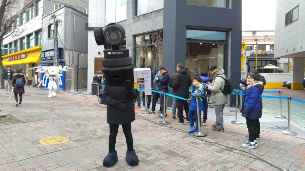 DJI 首爾旗艦店開幕 Osmo