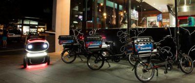 達美樂推全球首架送薄餅無人車