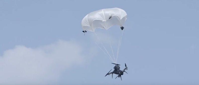 降落傘 ParaZero SafeAir 助空拍機軟著陸