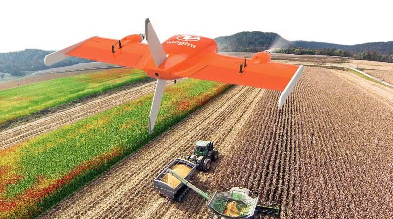 Wingtra 農用無人機