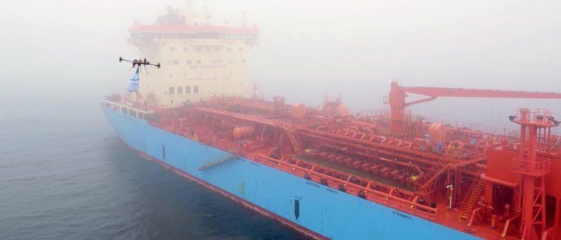 送貨 無人機 Maersk