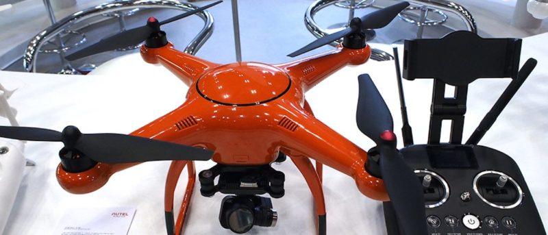 Autel X-STAR 於日本無人機科技展上展出