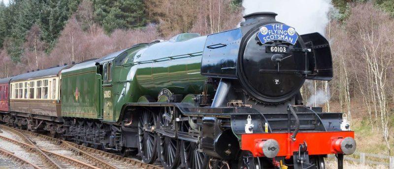 The Flying Scotsman 英國 火車