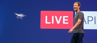 Facebook Live DJI Phantom 4