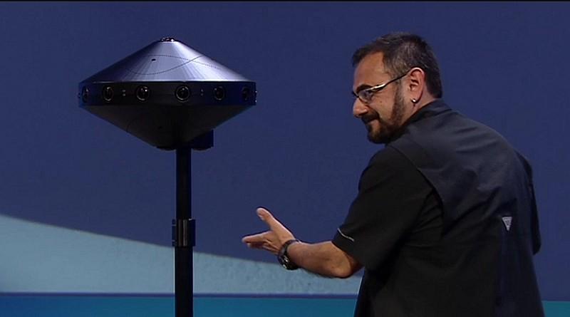 Facebook Surround 360 camera 於 facebook f8 開發者大會上首度亮相。