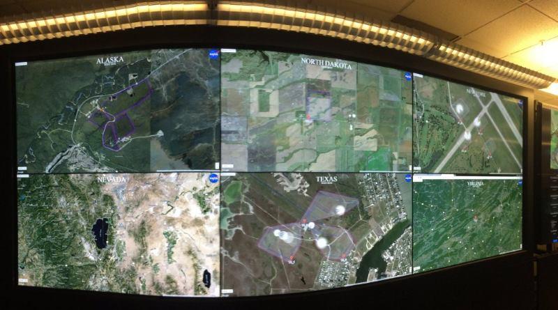 NASA UTM 系統首個跨州測試