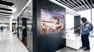 Yuneec 體驗中心於荷蘭阿姆斯特丹史基浦機場開幕