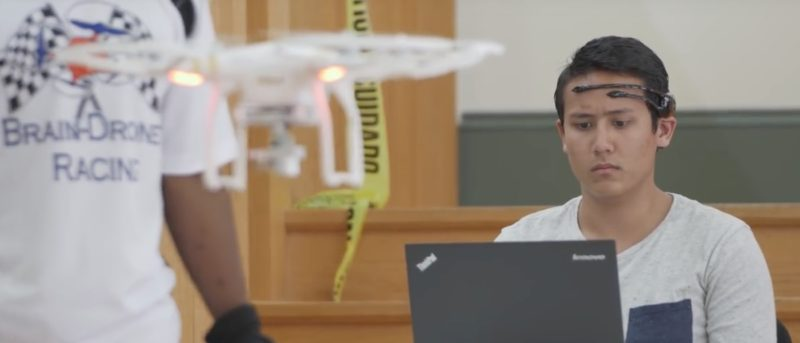 腦控 無人機 美國 佛羅里達州 大學