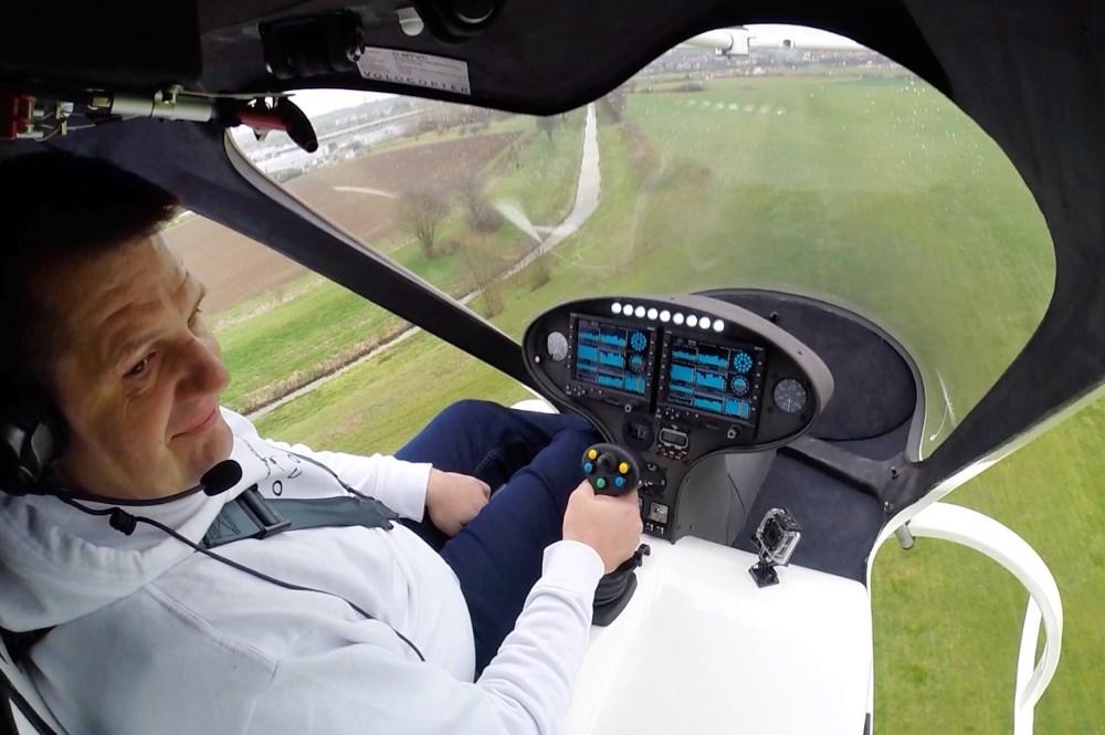 e-volo Volocopter VC200 遙控面板