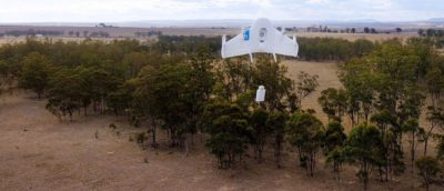 Google 無人機專利卸貨技術