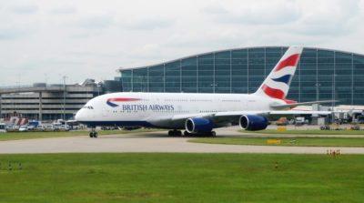 倫敦希斯路機場無人機與客機相撞