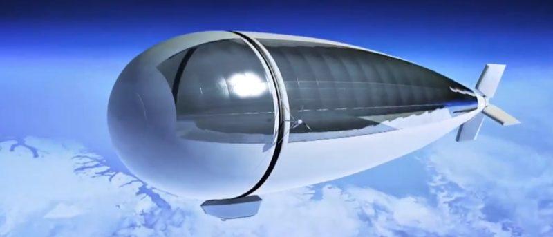 Stratobus 飛船 無人機 衛星