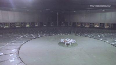 WindEEE Dome 的無人機受風測試