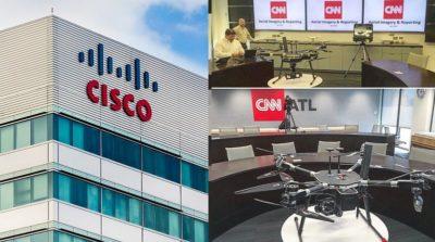 Cisco 與 CNN 合組商用無人機聯盟