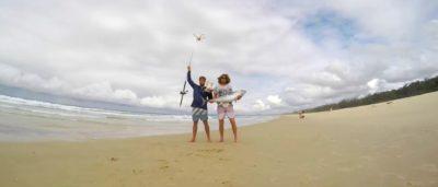 澳洲無人機釣魚