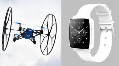 Hug Smartwatch 遙控無人機 更可發送求救訊號