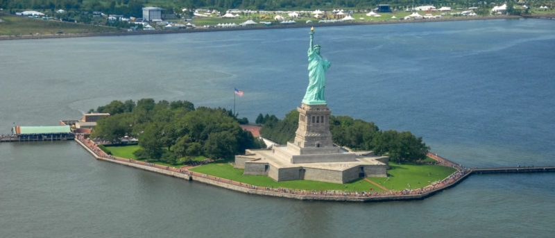 美國自由女神像