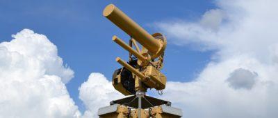 反無人機電磁砲台 AUDS 進駐美國機場
