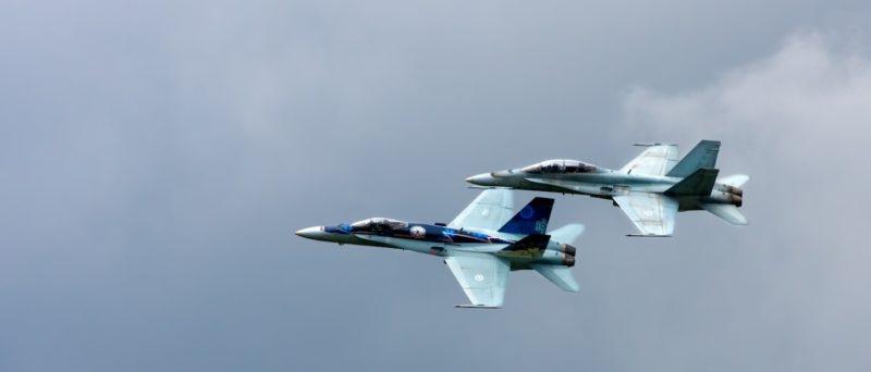 加拿大出動兩架 CF-18 戰機追尋無人機