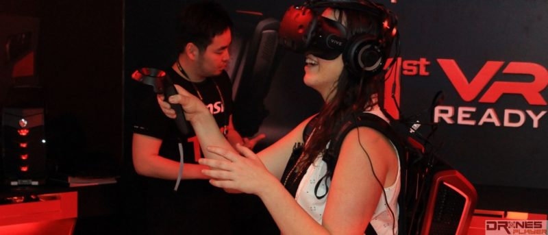 Computex 直擊 背包 PC 讓你把 VR 帶出街