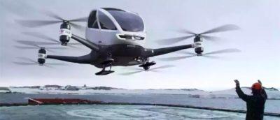 億航 eHang 184 載人飛行器