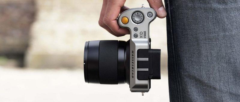 全球首部中片幅無反單眼 Hasselblad X1D