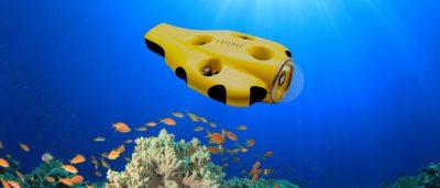 海底自動追蹤潛拍 水中無人機 iBubble