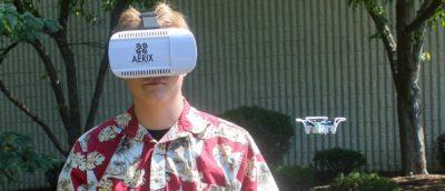 全球最小 VR 無人機 Aerix VIDIUS VR