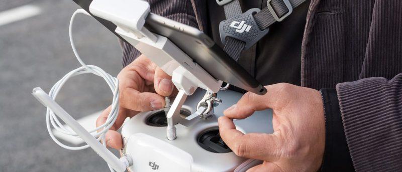 無人機軟體方案市場 長線發展更勝空拍機製造業 - DJI Inspire 1 遙控器