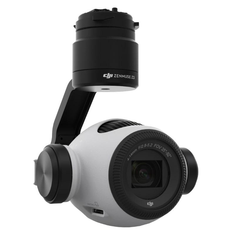 DJI Zenmuse Z3 航拍相機的側面
