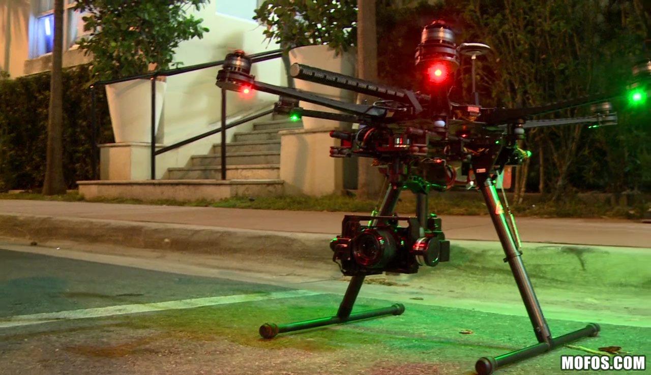 Drone Hunter 作品內的無人機
