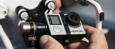 GoPro HERO 4 Black 安裝於 DJI Phantom