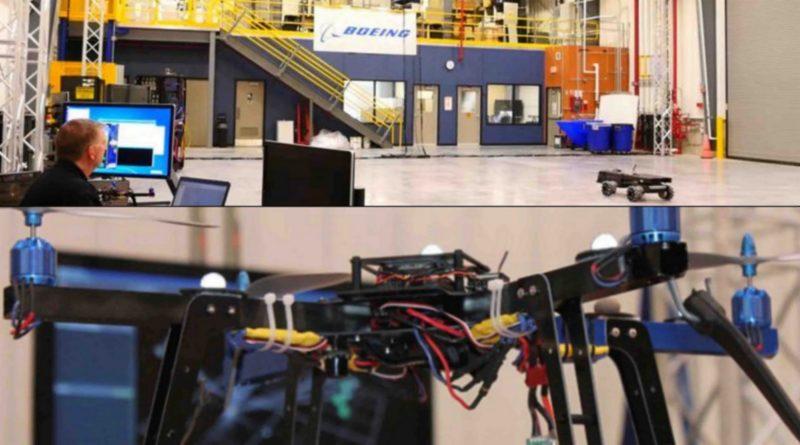 波音設自動化系統實驗室・空巴研偵察無人機