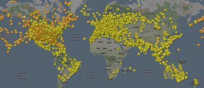 flightradar24 無人機 追蹤 民航機