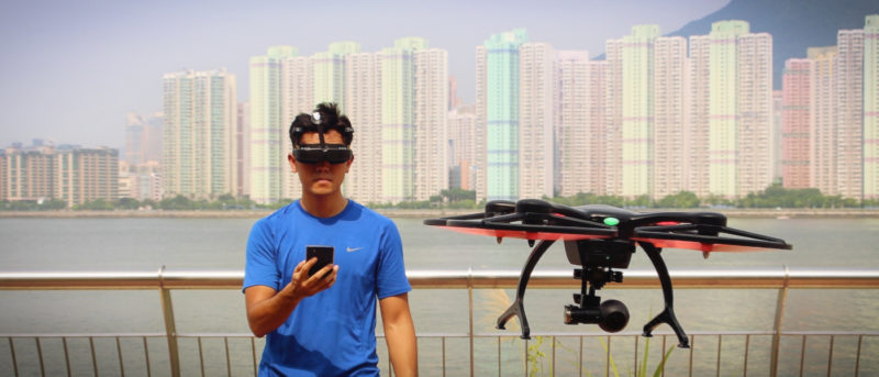 ghost drone 2.0 評測 航拍機 VR 眼鏡 體感操控