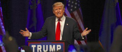 特朗普 總統 提名 共和黨 克里夫蘭 無人機