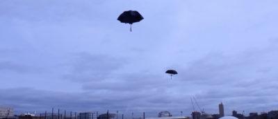 無人機 雨傘 水母 Alan Kwan MIT