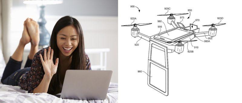 Google無人機搭載屏幕飛行 代你開視像會議