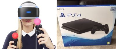 PS4 Slim 支援 PlayStation VR 眼鏡