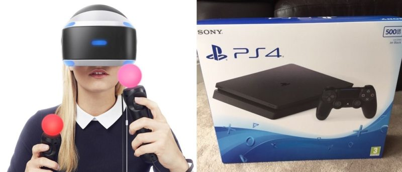 PS4 Slim 支援 PlayStation VR 眼鏡