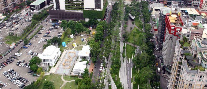 台中市民廣場(照片來源:台中市政府建設局)