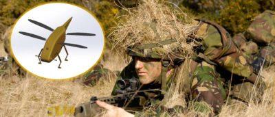 蜻蜓無人機 英國 軍方