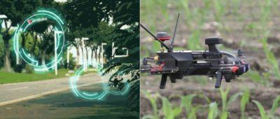 Walkera MR Drone 穿越機結合 AR 遊戲玩法