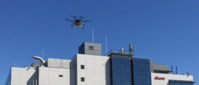 ASCL MS-06LA-15 經 NTT Docomo 4G 網絡飛行