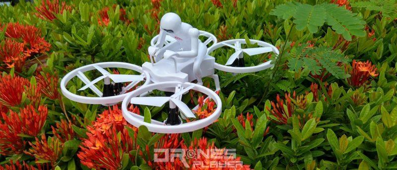 Create Toys E902 人騎四軸機飛翔測試