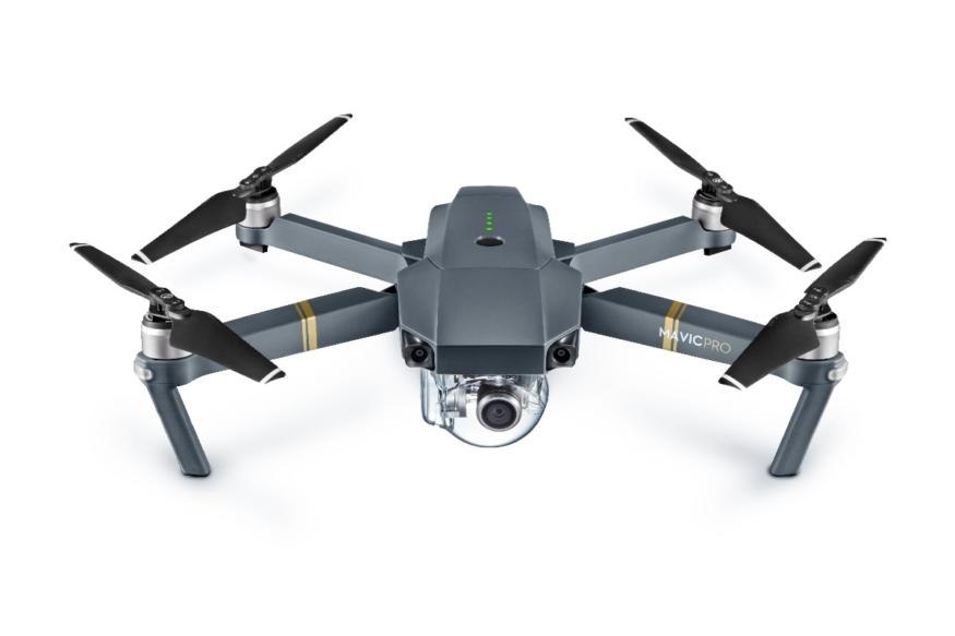 DJI Mavic Pro - 飛行器打開