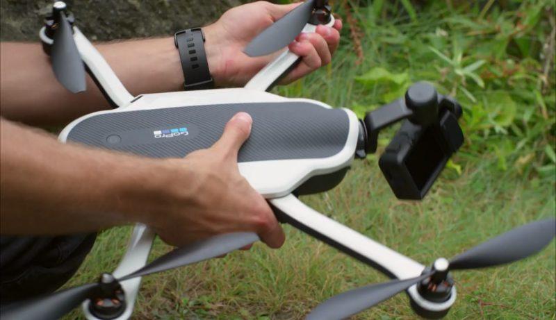GoPro Karma 無人機:摺軸臂