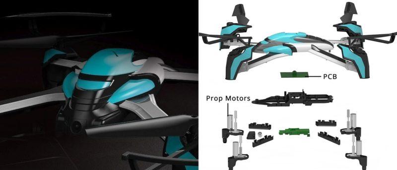 Pantonma Sensor Drone 完全模組化機身
